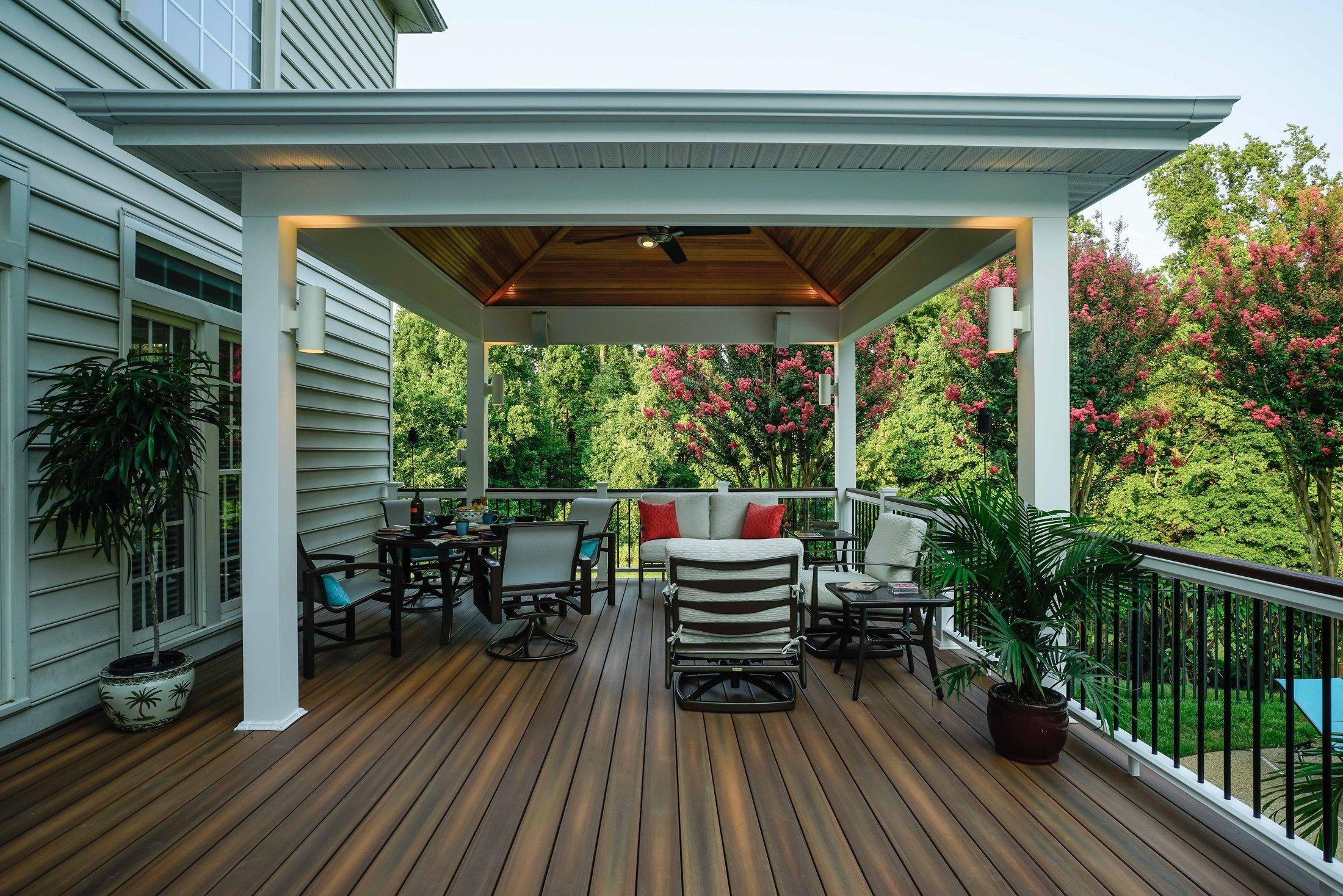 decks com davidsonville pavilion picture 1373 deck designs