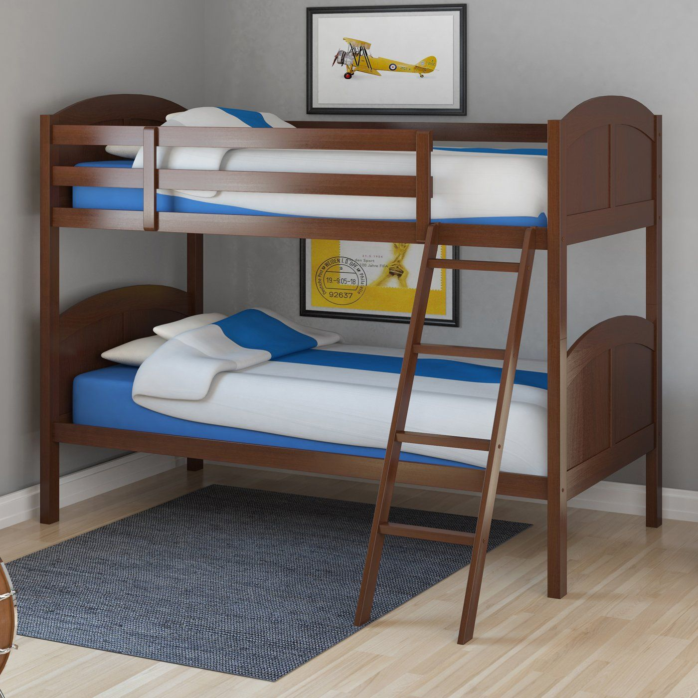 Best An Espresso Brown Bunk Bed That Will Fit With The Decor Of 400 x 300