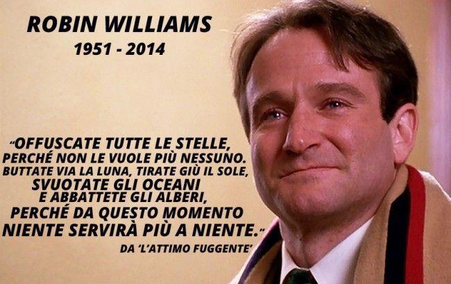 L Attimo Fuggente Citazioni Robin Williams Parole