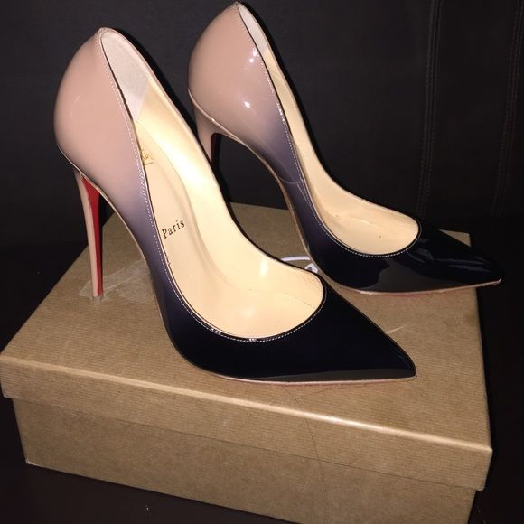 af2bffd3a4 Authentic Christian Louboutin shoes 100% Authentic Christian Louboutin  Pigalle Follies 120 patent leather, 2