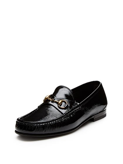 f04617e9ea9f Patent Leather Horsebit Loafers by Gucci at Gilt