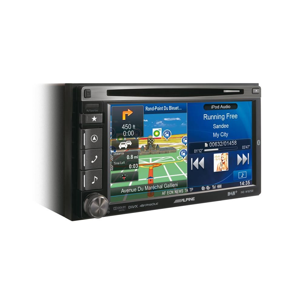 alpine ine w925r dab navigation double din car stereo system car audio centre [ 1000 x 1000 Pixel ]