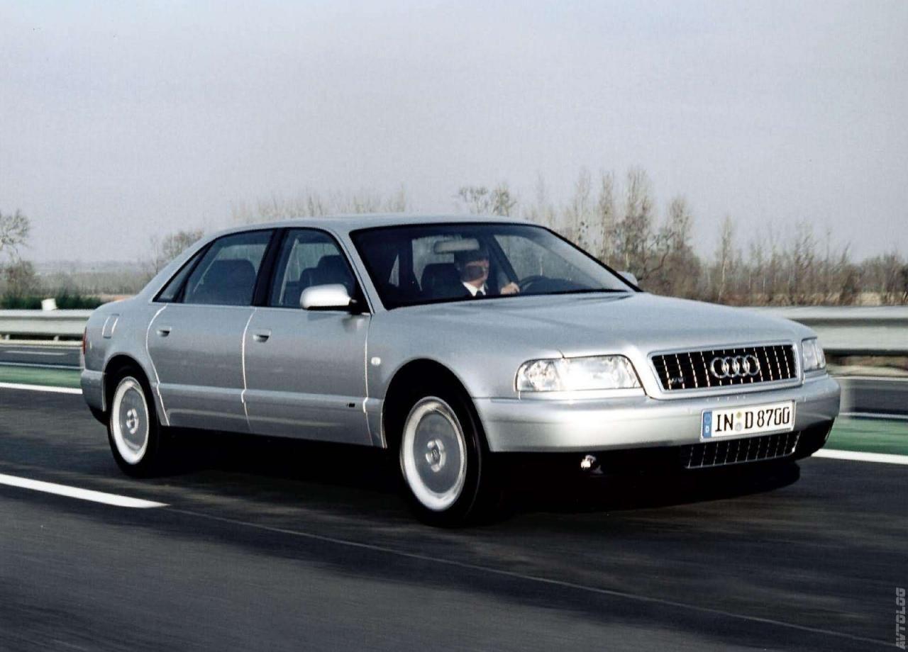 Фото 2001 Audi A8 L 6 0 Quattro