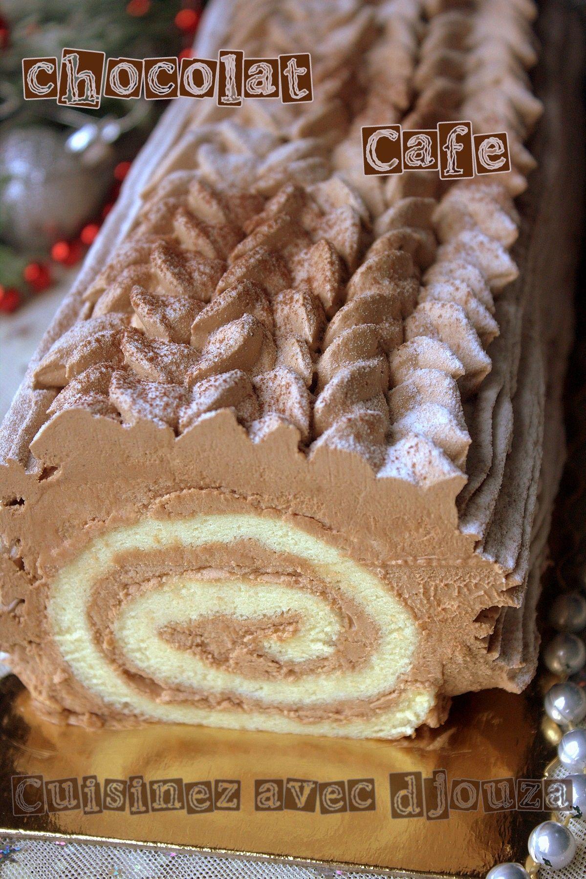 Buche de no l facile pour d butant chocolat caf patisserie pinterest buche de noel facile - Buche de noel facile et legere ...