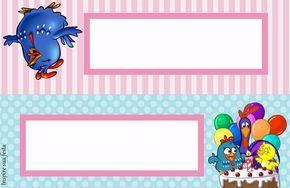 Galinha Pintadinha Rosa E Azul Kit Festa Infantil Gratis Para