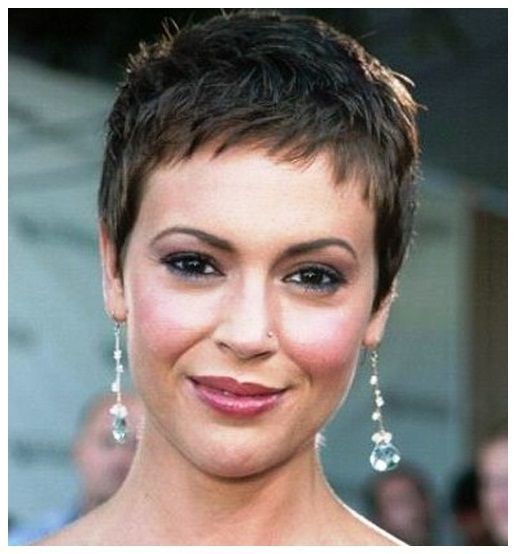 Very Short Hairstyles After Chemo Jpg 516 554 Pixels Very Short Hair Super Short Hair Very Short Haircuts