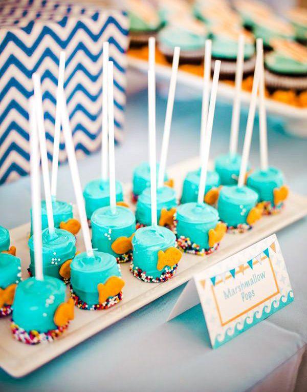 Totally Cool Backyard Beach Bash First Birthday Hostess With The Mostess Beach Theme Birthday Beach Theme Birthday Party Beach Birthday