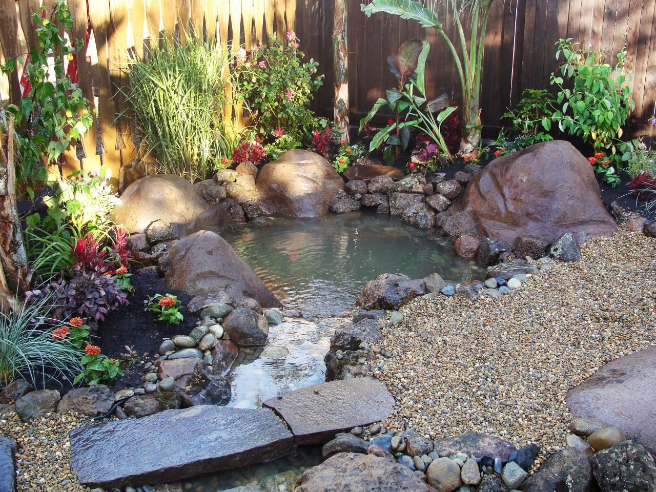 Diy Pond Outdoor Water Features Outdoor Water Features Water Features