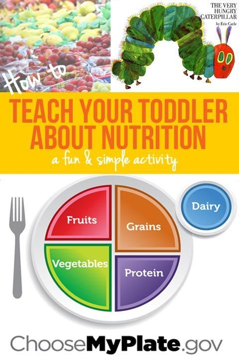 Helping your toddler understand nutrition: a My Plate activity - The Many Little Joys #kidsnutrition