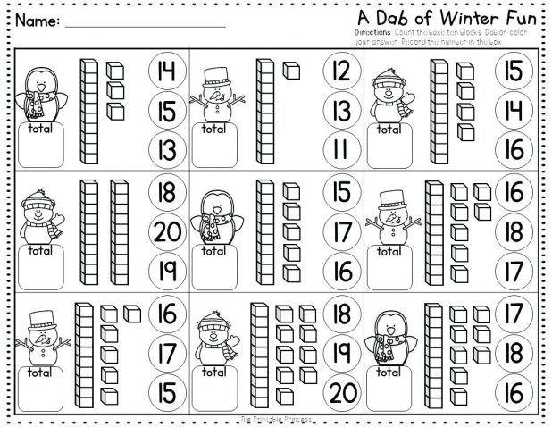 Winter Fun Using Bingo Dabbers No Prep Dauber Alphabet