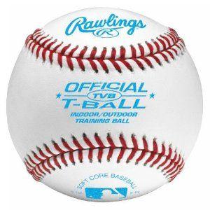 Rawlings T Ball Indoor Outdoor Soft Baseball By Rawlings 5 95 Spec Indoor Outdoor T Ball Training Baseball Little League Baseball Fun Sports Play Baseball