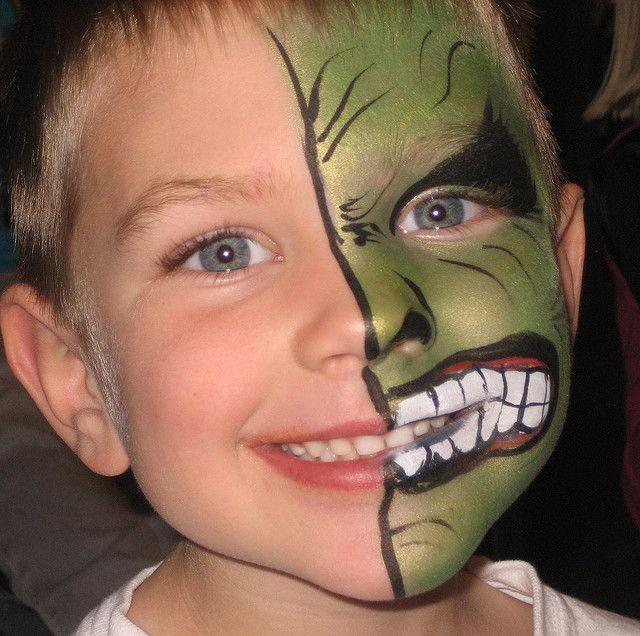 Helen McDonald Face Art Fantasy Face Painting Skull Teeth by faceartfantasy, via Flickr Helen Mc..
