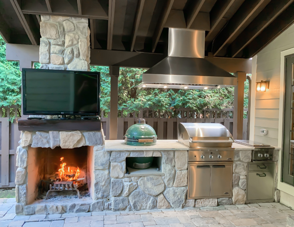 6 Outdoor Kitchen Bar Ideas Covered Patio Kitchen Ideas Outdoor Kitchen Island Outdoor Kitchen