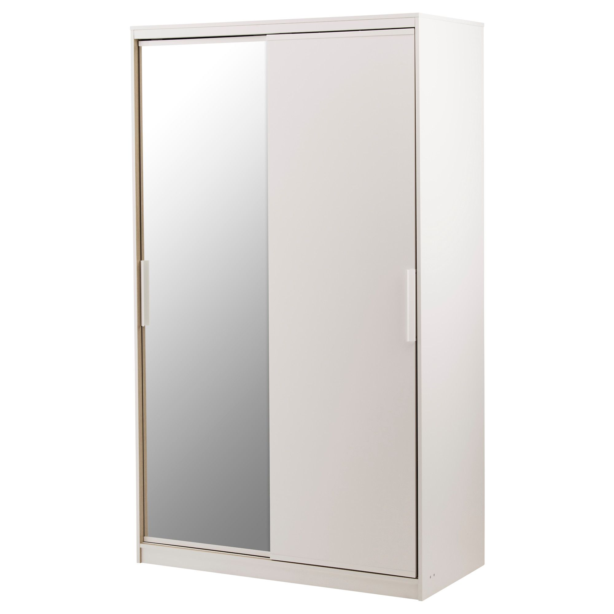 Home & Garden Armoires & Wardrobes Normandy 3 Door 3 Drawer Mirrored Wardrobe White Diversified Latest Designs
