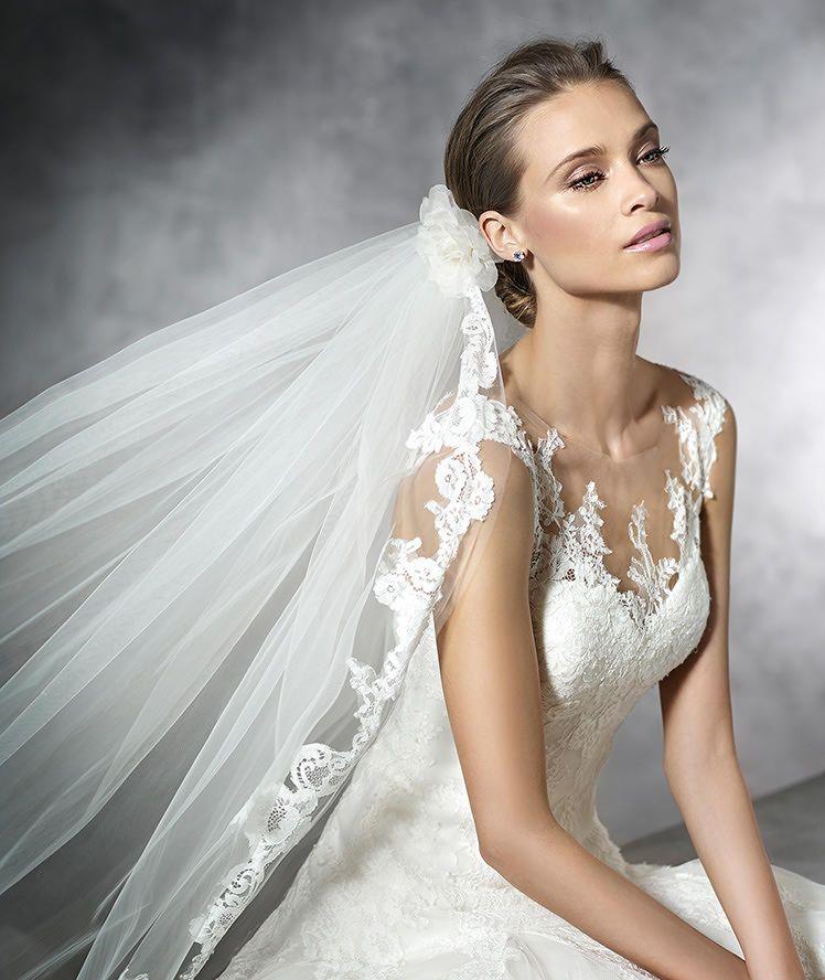 PRAMOLA - LACE wedding dress | Pronovias | WHITE | Pinterest ...