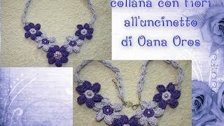 Oana Oros Youtube Tutorial Interessanti Collar De Ganchillo