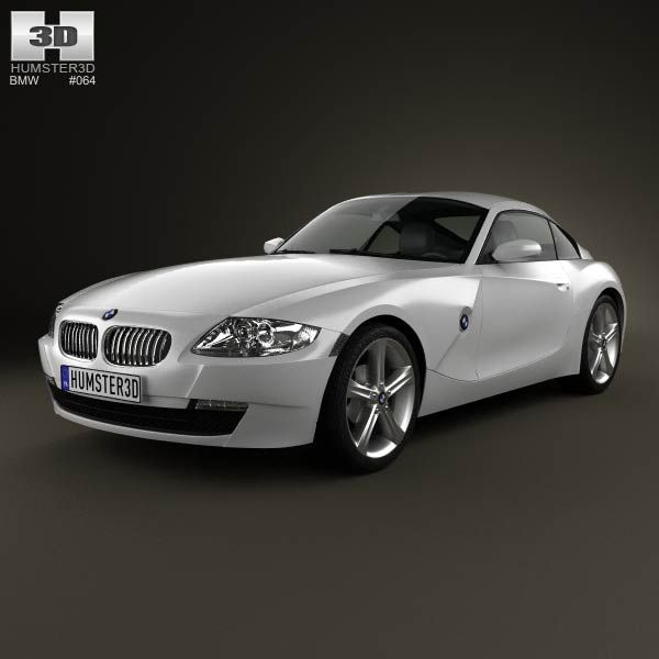 Bmw Z4 Convertible Price: BMW Z4 (E85) Coupe 2002 3d Model From Humster3d.com. Price