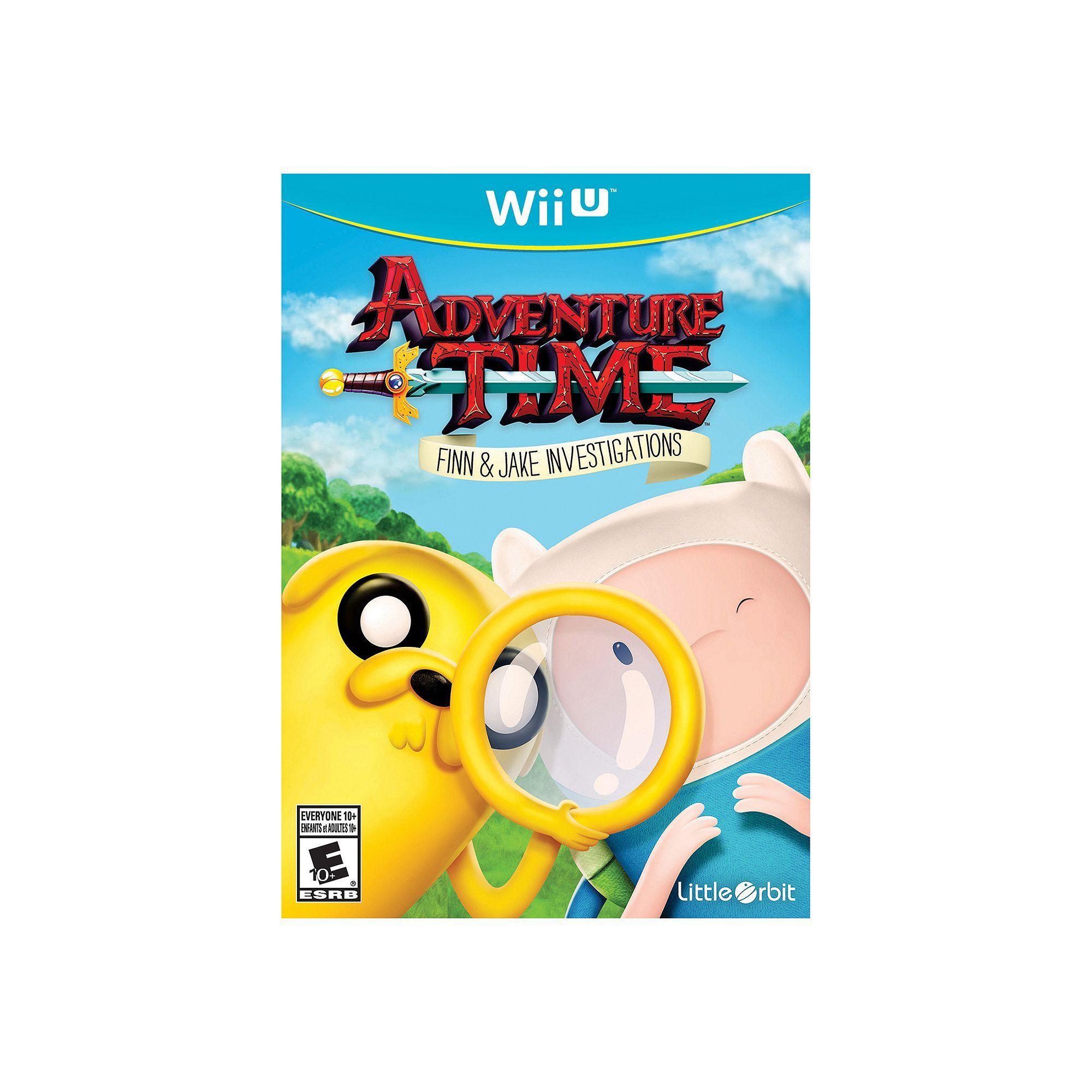 Adventure Time Finn Jake Investigations For Wii U Finn Jake