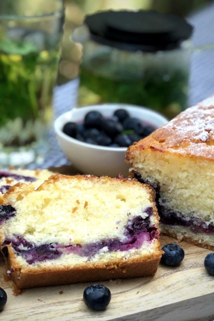 citroencake met blauwe bessen -   16 cake Recepten blauwe bessen ideas