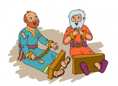 Earthquake In Prison 3 Of 3 Saul To Paul Series Paul Silas