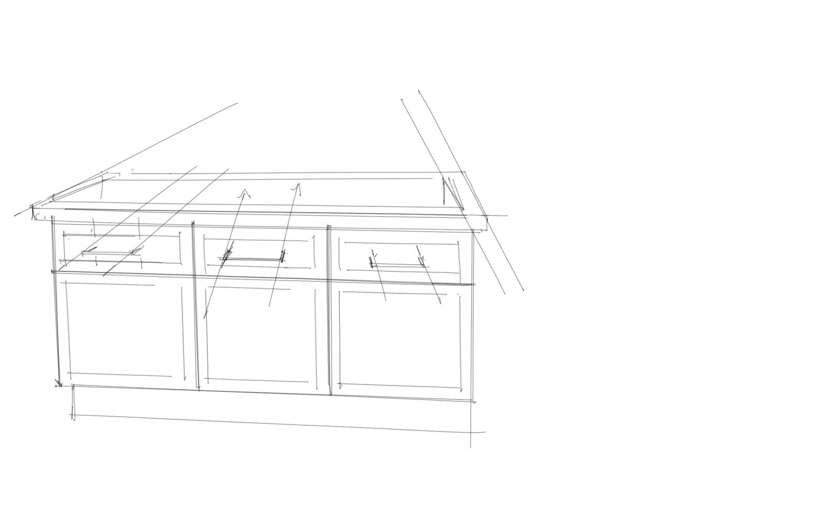 Interior Design Rendering: Understanding Details On A Bathroom Cabinet