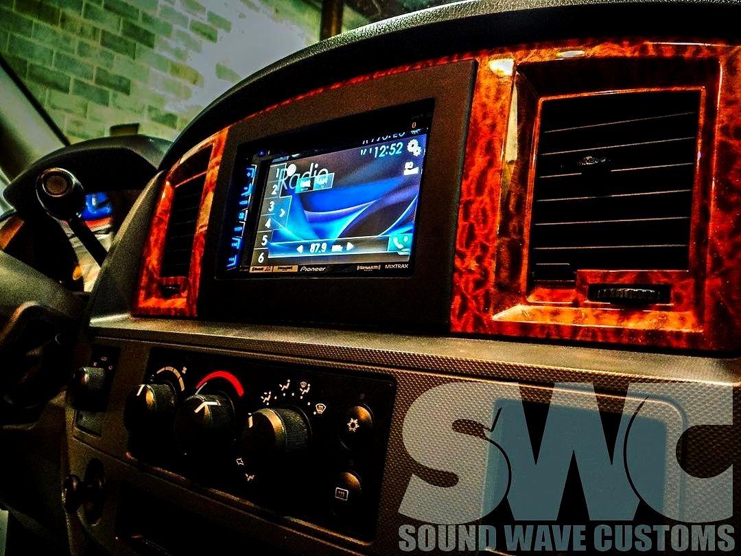 Soundwavecustoms Dodge Ram 1500 2500 Pioneer Installs Bluetooth Dvd Touchscreen Wedoitall Upgrade Car Audio Systems Remote Car Starter Audio System