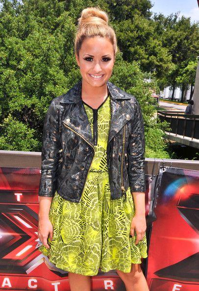 demi lovato x factor | Demi Lovato 'X-Factor' judges, Britney Spears, Demi Lovato, LA Reid ...