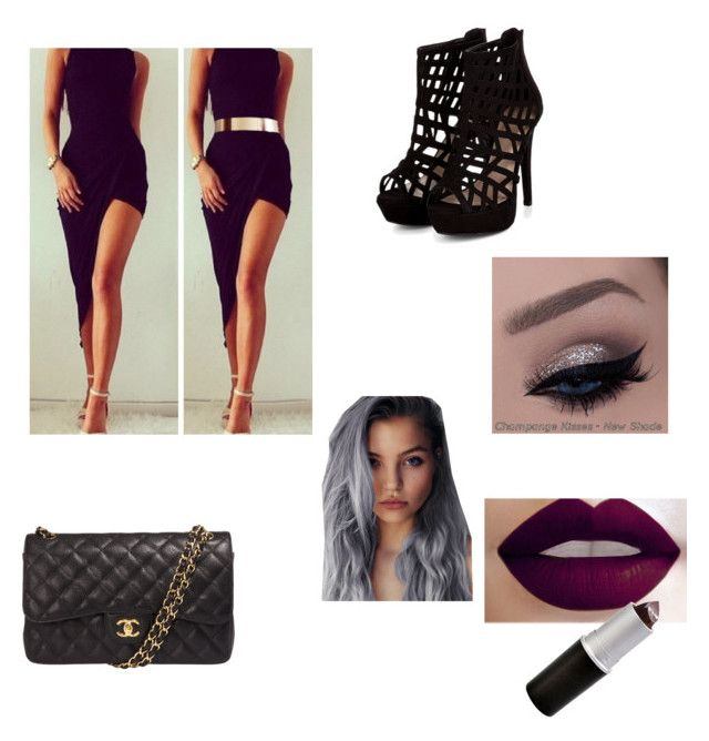 """""""Going Out!"""" by purplezebra175 on Polyvore featuring Chanel"""