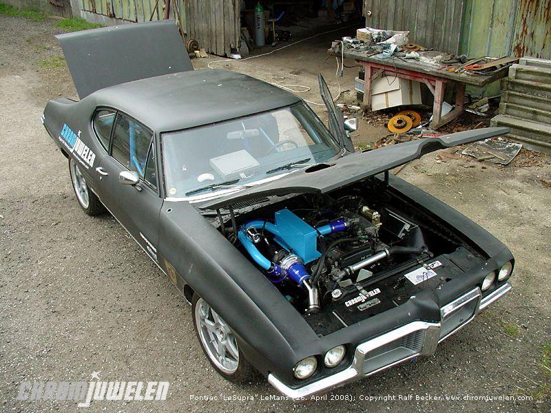 """1972 Pontiac """"LeSupra"""" LeMans (Engine Swap Toyota Supra 7M-GTE)"""