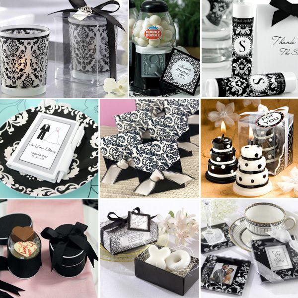 Black And White Wedding Favors Read More Elegantweddinginvites How