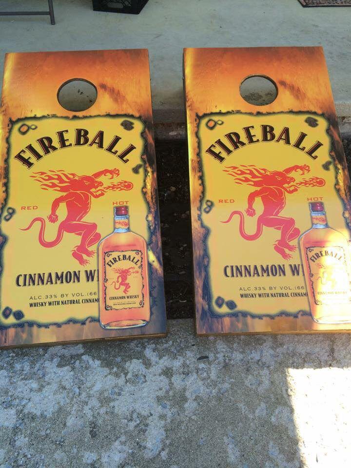 Fireball cornhole board set cornhole cornhole boards