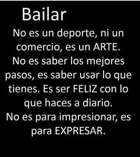 Amo Bailar Frases De Baile Frases De Danza