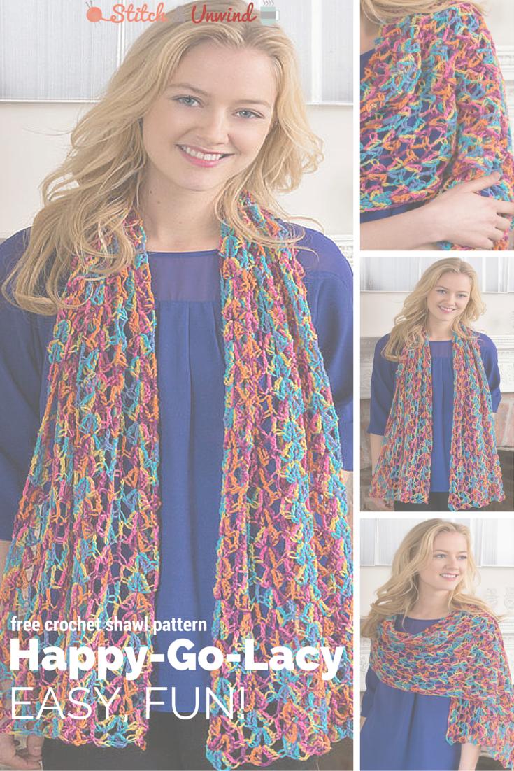 Happy go lacy crochet shawl pattern crochet shawl patterns happy go lacy crochet shawl pattern bankloansurffo Choice Image