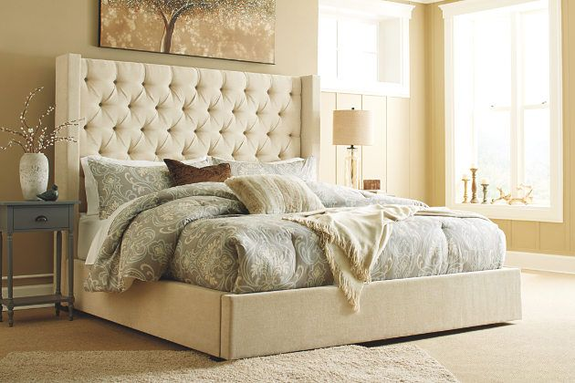 Norrister Queen Upholstered Panel Bed Upholstered Beds