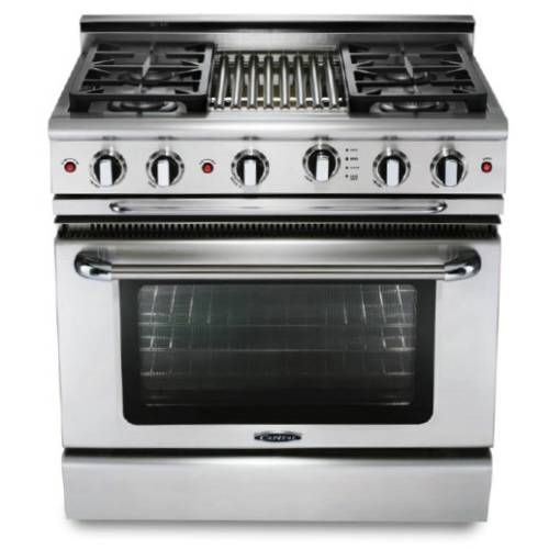 30 Gas Range With Griddle