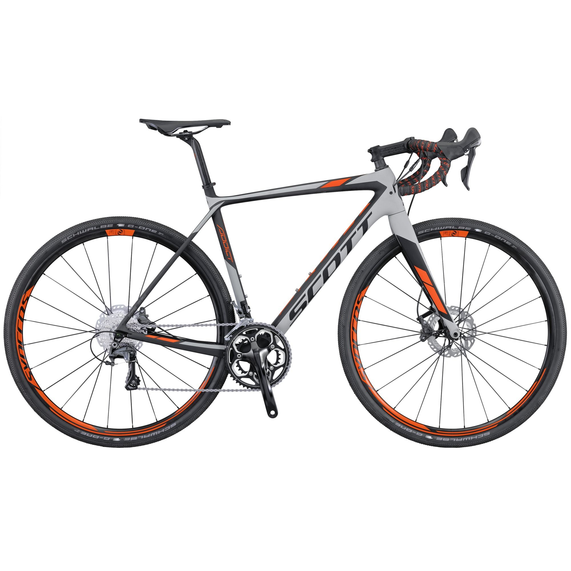 The All New Addict Gravel Disc Has Been Set Up To Allow You To Ride Any Road Anywhere And In Any Weather Conditions A Light Scott Bikes Bike Bicycle Painting