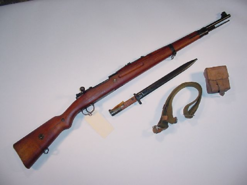 Brno VZ 24 Mauser Bolt Action in 8mm Mauser   Swedish and