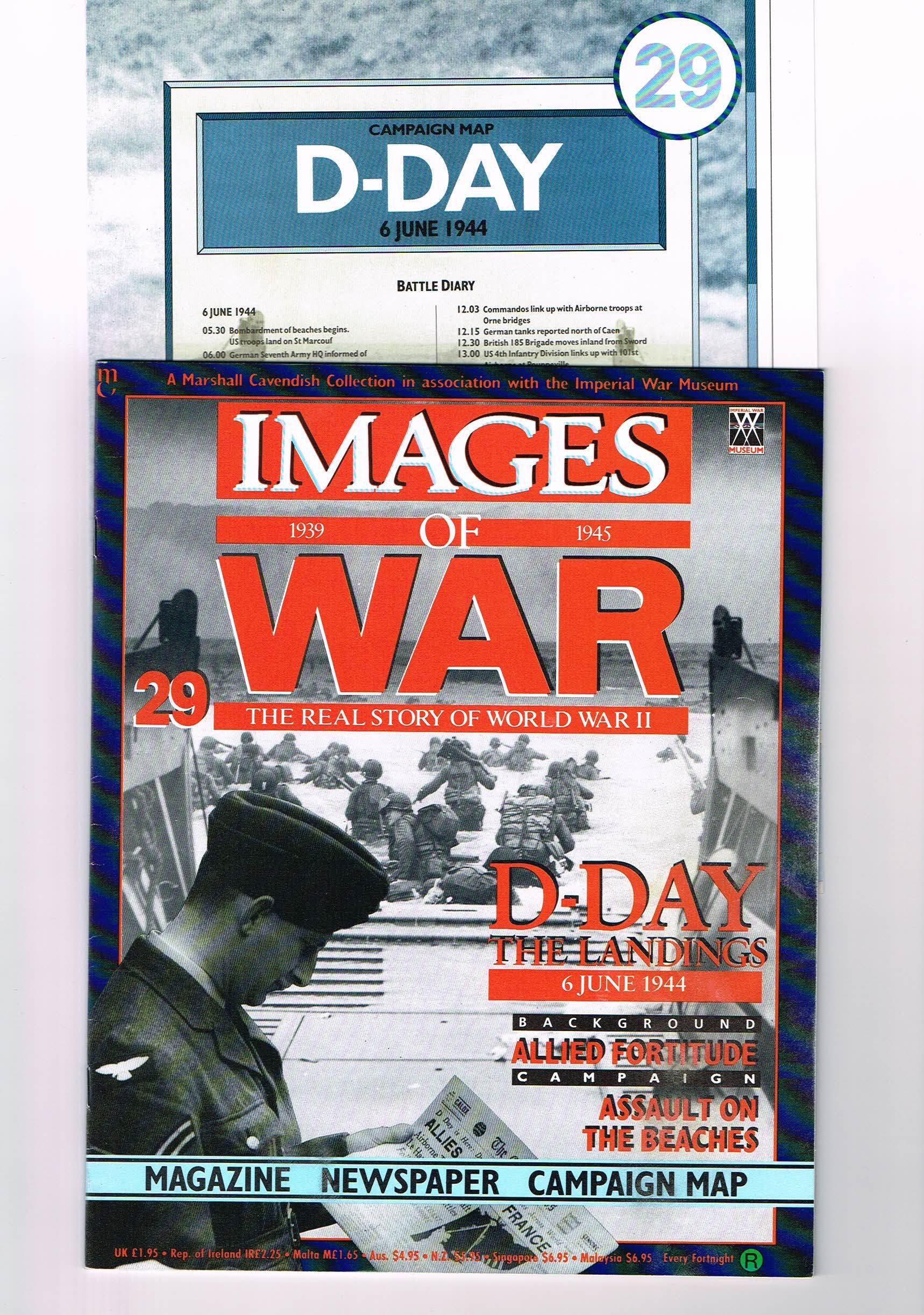 Images of War no29 D DAY LANDINGS Magazine