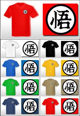 69e545851c2cf Camiseta Comic T-shirt DRAGON BALL BOLA DE DRAGON Bola Drac Goku - S M L XL  XXL