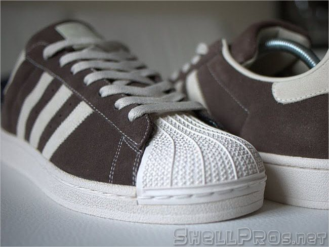 look for daea3 e2a80 Adidas Superstar II Brown Suede   Chalk –  096985