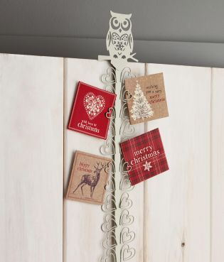 Now That Is A Way To Display Your Christmas Cards Say Goodbye To