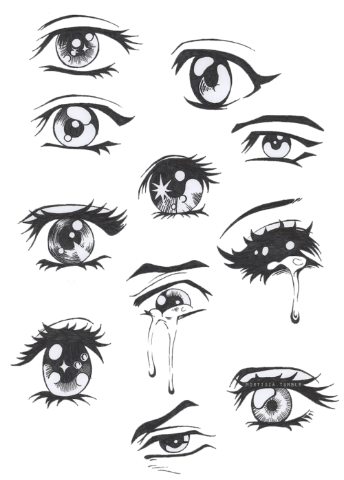 Manga Eyes Transparent Edit By Me Drawings Easy Anime Eyes Anime Drawings