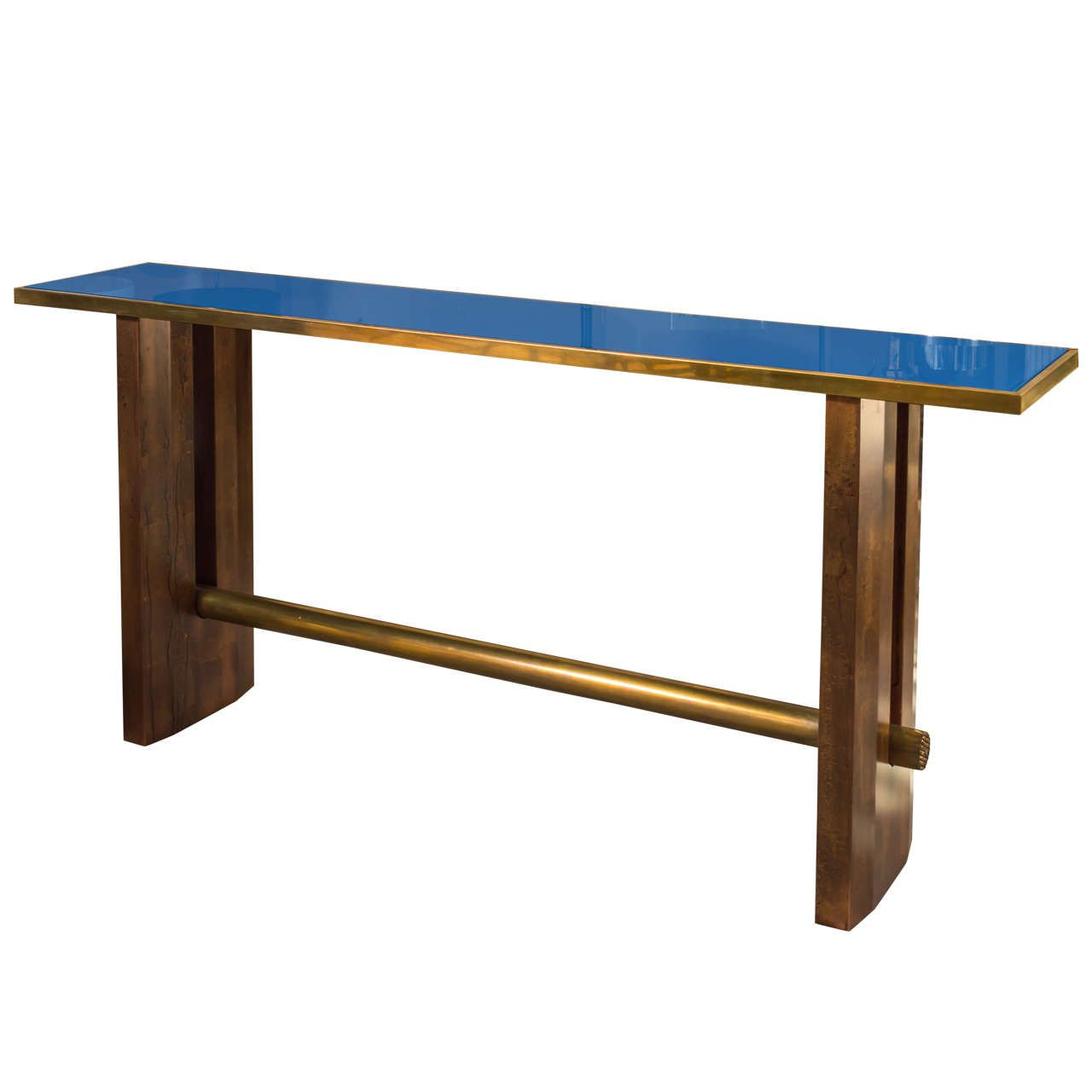Max Papiri Console Table | From a unique collection of antique and modern console tables at https://www.1stdibs.com/furniture/tables/console-tables/
