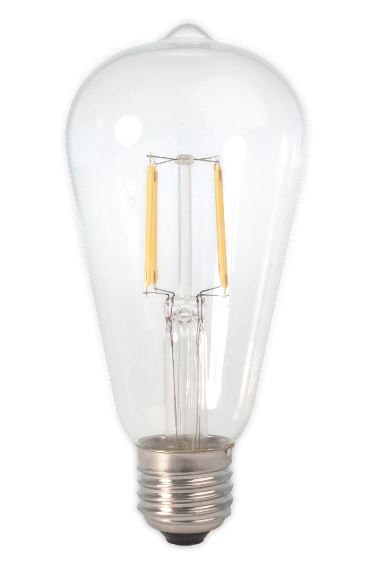Dc 12v 24v 36v 6w Led St64 Classic Retro Wire Filament Light Bulb Industrial Loft Light Bulb Filament Bulb Lighting Battery Lights