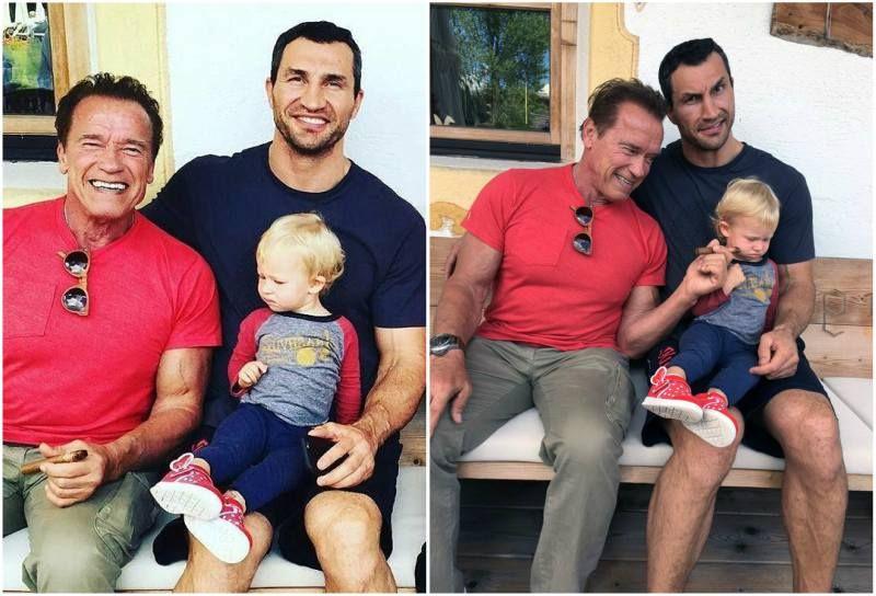 Groovy Hayden Panettiere And Wladimir Klitschko S Daughter Kaya Evdokia Hairstyles For Women Draintrainus
