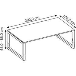 Photo of angle desks