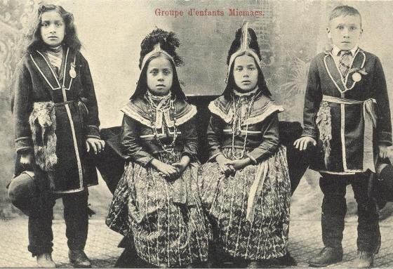 Mi'kmaq children - circa 1900 | Mi'Kmaq | Native american