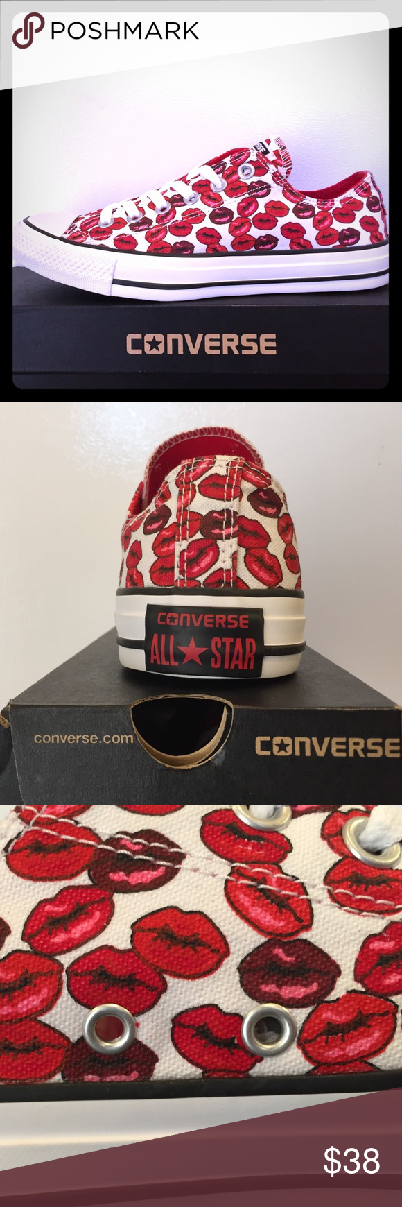 7bddf8dbae4a BRAND NEW Converse Chuck Taylor KISS PRINT!!! Get your hands on these SUPER