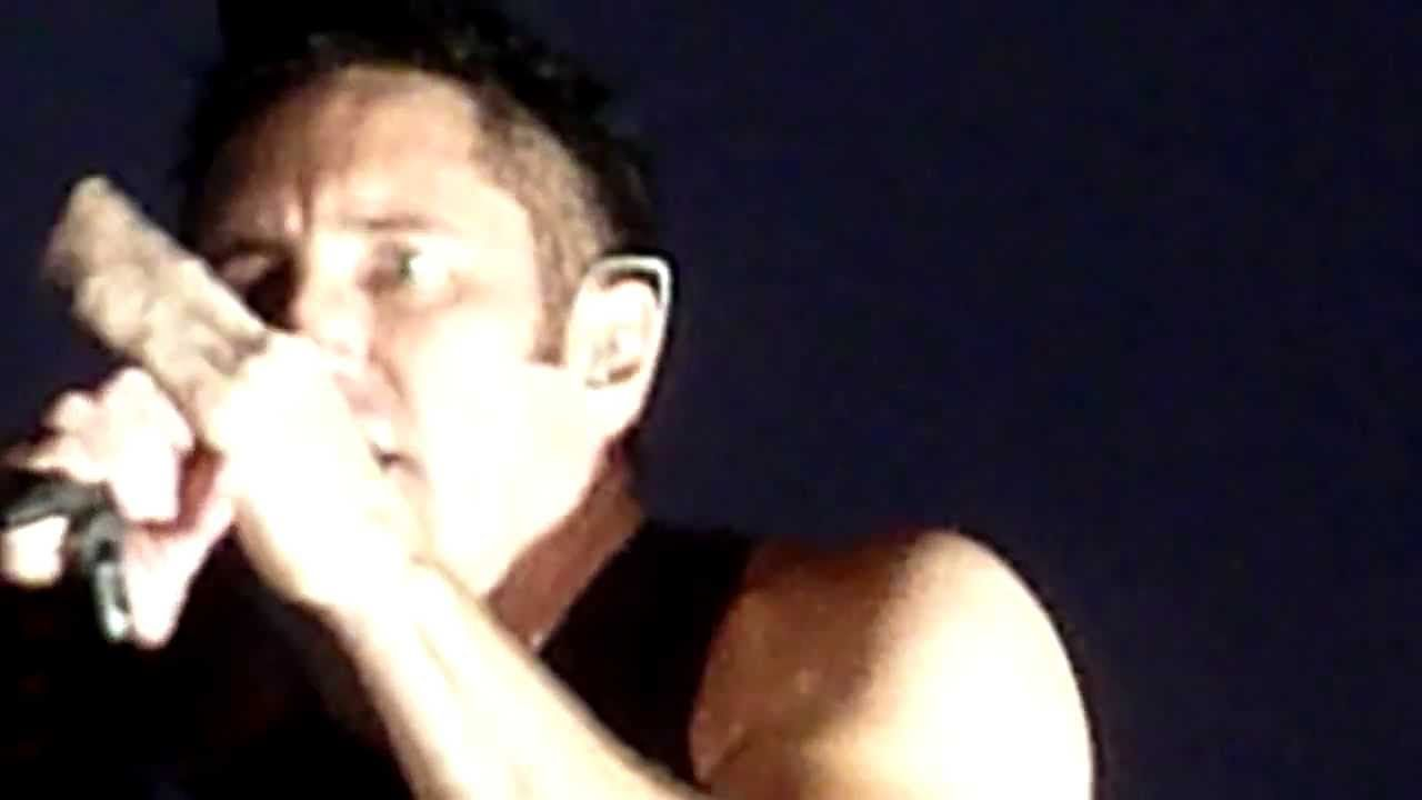 Nine Inch Nails Copy Of A Sanctified Live Lollapalooza Grant Park ...