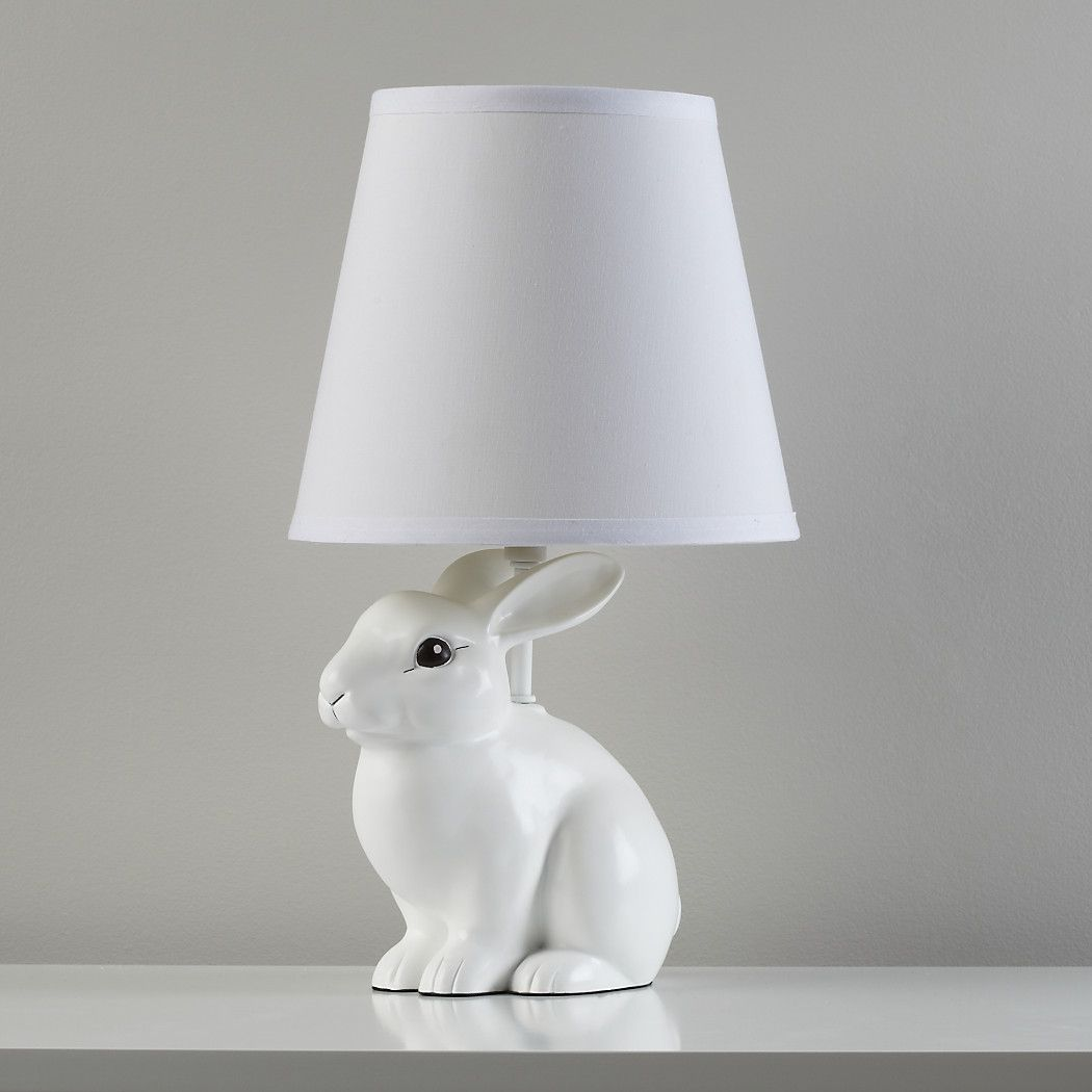 White Rabbit Table Lamp Reviews Crate And Barrel Bunny Lamp Kids Floor Lamp Kids Table Lamp